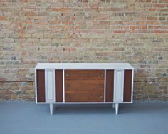 Mid Century Modern Painted White Buffet / by departmentChicago