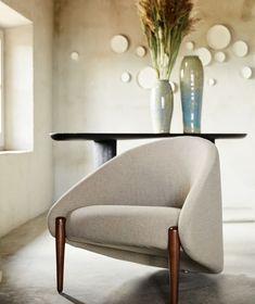 "Roche Bobois on Instagram: ""Scandinavian-style. Walrus armchair, designed by Raphael Navot. #rochebobois #frenchartdevivre #europeanmanufacture #armchair ..."