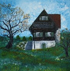 Paintings offer a unique perspective into a culture. As an artist I like to make Europe accessable through art. Discover Austria and Italy and I paint my way through life. Art Blog, Austria, Perspective, My Arts, Europe, Italy, Cabin, Paintings, Culture