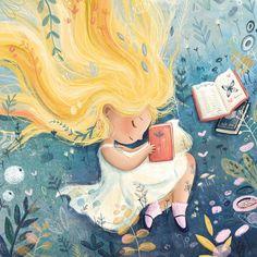 Twitter Children's Book Illustration, Character Illustration, Watercolor Illustration, Art Illustrations, Whimsical Art, Cute Drawings, Cute Art, Cartoon Art, Illustrators