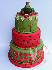 Frosch Hochzeitstorte www.tortenfiguren.at Fondant Cakes, Wedding Cakes, Desserts, Food, Wedding Buffets, News, Wedding Gown Cakes, Tailgate Desserts, Wedding Pie Table