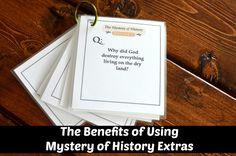 The Benefits of Using Mystery of History Extras @Katya du Bois Ideas Press @samsnoggin