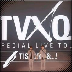 Yunho and Changmin last performance in Seoul before Yunho's military enlistment. 2015