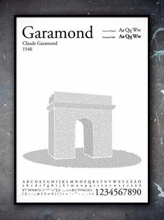 Les Monuments sAffichent en Helvetica, Futura et Garamond par Per Nilsson Type Posters, Book Posters, Poster Ads, Graphic Design Posters, Graphic Design Typography, Travel Posters, Graphic Art, Typography Quotes, Typography Inspiration