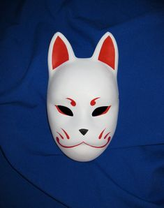 Kitsune mask by ~Mishutka on deviantART