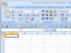 Créer un tableauAprès avoir démarré Excel (ou sa version gratuite en Open office, téléchargeable ici), ouvrez un nouveau fichier en haut à gauche (comme dans Word).