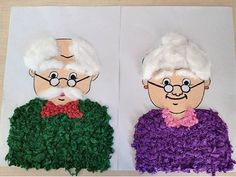 Grandparents day crafts for kids Personalized Gifts For Grandparents, Grandparent Gifts, Classroom Crafts, Preschool Crafts, Preschool Body Theme, Grandparents Day Activities, Santa Handprint, Student Crafts, Bookmark Craft