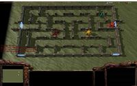 <>In this screenshot you can see the Worrior of player 1 (the Thor on center left) as well as the three base monsters. Burwor (blue Ze...