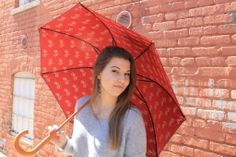 GWU #student with her Jonas #umbrella! Support Jonas and you'll be bringing clean #water to children in Sub-Saharan #Africa!