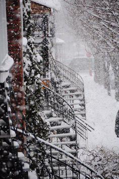 ~ Montréal l'hiver par Junie berthiaume ~