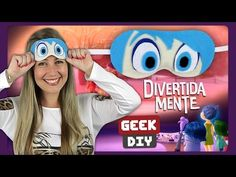 Mascara de dormir - Divertida Mente | DiY Geek - YouTube