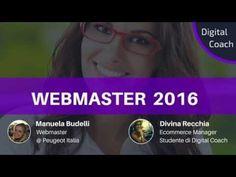 Chi è e cosa farà il WEBMASTER nel 2016? - YouTube