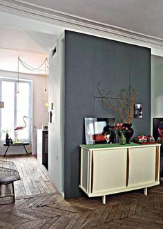 Un appartement parisien au décor années 50 - Marie Claire Maison