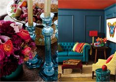 jewel tone home decor | ... pinterest to encourage some playful decor with jeweled tones and hues