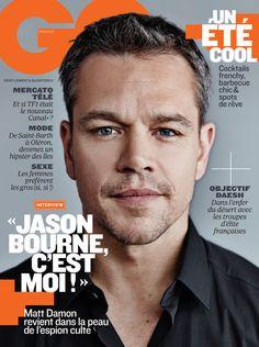 Matt Damon est en une de GQ