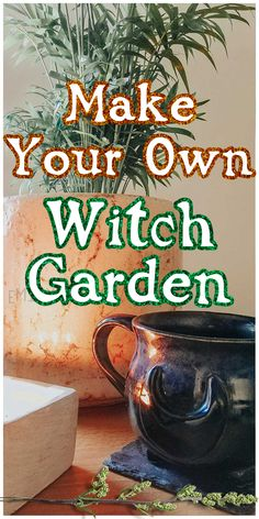 How to Create a Witch Garden, tips for witchcraft gardening, and 10 must-have witchy plants! How to be a witch. Witchcraft for Beginners. Witch Spell Book, Witchcraft Spell Books, Green Witchcraft, Hedge Witchcraft, Magic Herbs, Herbal Magic, Witchy Garden, Garden Spells, Gothic Garden