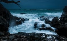 Stormy Northerly, Enclosure Bay by pete rees on 500px