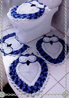 Baños a crochet