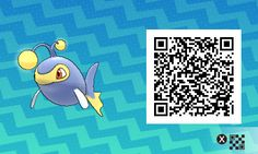 Lanturn PLEASE FOLLOW ME FOR MORE DAILY NEWS ABOUT GAME POKÉMON SUN AND MOON. SIGA PARA MAIS NOVIDADES DIÁRIAS SOBRE O GAME POKÉMON SUN AND MOON. Game qr code Sun and moon código qr sol e lua Pokémon Nintendo jogos 3ds games gamingposts caulofduty gaming gamer relatable Pokémon Go Pokemon XY Pokémon Oras