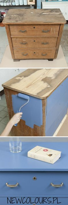 Reuse, Storage Chest, Decoupage, Diy Crafts, Entertaining, Cabinet, Table, Loft, Painting