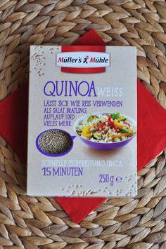 Voller Vitamien und Antioxidantien ist der Quinoa von Müller's Mühle, der wunderbar als Salat, in Aufläufen oder als Suppeneinlage schmeckt.