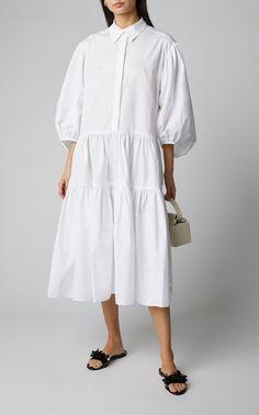 Click product to zoom Muslim Fashion, Hijab Fashion, Fashion Dresses, Midi Dresses, Oversized White Shirt, Effortlessly Chic Outfits, Beautiful Maxi Dresses, Casual Day Dresses, White Fashion