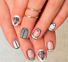 Resultado de imagen para winter nails 2016