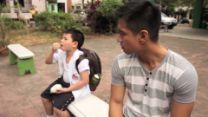 Steamed Bun (Siopao) // Viddsee.com   Viddsee - Yahoo Screen Siopao, Steamed Buns, Short Film, Men Casual, Cute, Mens Tops, Kawaii