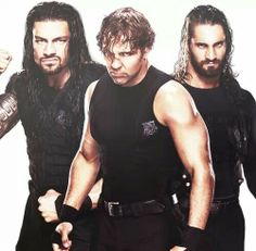 Roman Reigns, Dean Ambrose, and Seth Rollins: The Shield