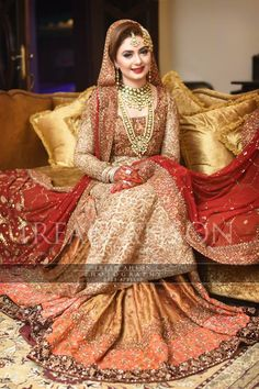 Latest Bridal Barat Wedding Dresses Trends 2016-2017 Collection (25)