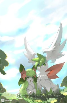 Sky and Land -Shaymin- by TysonTan on deviantART