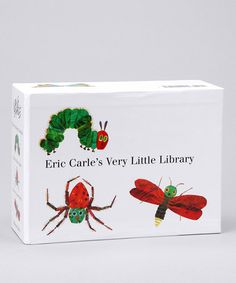 Another great find on #zulily! Eric Carle's Very Little Library Boxed Board Book Set #zulilyfinds