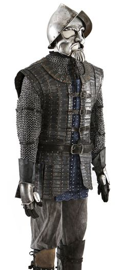 The Chronicles of Narnia Prince Caspian Telmarine Soldier's Full Costume with Mask.