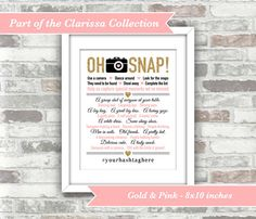 PRINTABLE Digital Files  Clarissa Collection  Oh Snap