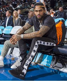 ♕PINTEREST:KIANIA Dave East and his father