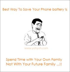 Best Way To Save Your Phone Battery - Funny Pictures