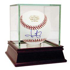 Jason Giambi Autographed and Engraved Career Stats MLB Baseball