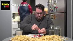 How Slowly Can This Man Eat One French Fry?