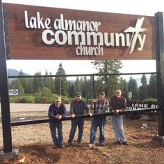 Custom church signs made custom per order. See how our customers installed their own church signs with professional results. Church Signs, Church Banners, My Church, Church Ideas, Church Welcome Center, Outdoor Signs, Catechism, Letter Wall, Diy Signs