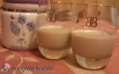 Baileys krémlikőr recept fotóval Hungarian Recipes, Baileys, Levek, Glass Of Milk, Rum, Pudding, Drinks, Desserts, Food