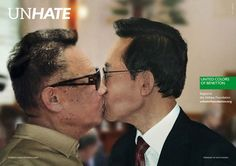 Benetton Not Feeling the Love for Its 'Unhate' Kissing Campaign