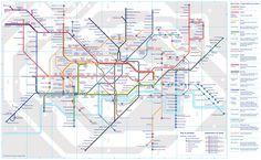 Metro Londen Kaart Openingstijden Prijzen Zoover World