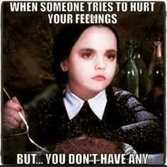 """19 Likes, 5 Comments - Laura (@sewingmama303) on Instagram: """"Pretty much... I cracked up at this one. #wednesdayadams #nofeelings #truth"""""""