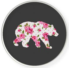 Instant Download,Free shipping,Counted Cross stitch pattern,Cross-Stitch PDF, pillow pattern ,flower bear  ,zxxc0636 by danceneedle on Etsy https://www.etsy.com/listing/239753531/instant-downloadfree-shippingcounted