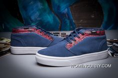 Vans Snake HALF Cab Classic Navy Red True White Mens Shoes Authentic 293f9f02d