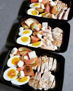 Pin for Later: 21 Simple Meal Prep Combinations Anyone Can Do Chicken + Egg + Tomatoes + Cheese