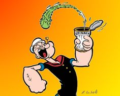 Popeye the Sailor is a cartoon fictional character, who has appeared in comic strips and animated cartoons in the cinema as well as on television. Look at this funny man, he looks like Popeye the sailor. Juice Recipes For Kids, Real Food Recipes, Funny Images, Funny Pictures, Green Lemonade, Popeye The Sailor Man, Raw Juice, Loch Ness Monster, Iron Rich Foods