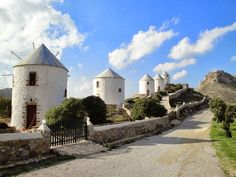 The Windmills & the Castle, Leros #mysteriousgreece