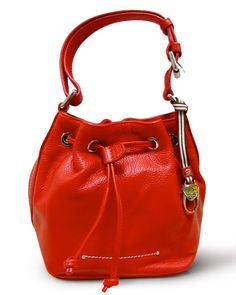 Tuscano | Red Bucket Bag