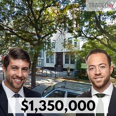 IMAGE: Brian Davila and Steve Reynolds ADDRESS: 1473 Bushwick Avenue  CITY: New York MARKET: Brooklyn ASSET TYPE: Multi-family PRICE: $1350000 SF: 4825 sf PPSF: $280 SELLER: Jeannette Jackson BUYER: Victor Azrak BROKER:  Bestreich Realty Group: Steve Reynolds and Brian Davila  DATE: 03/08/18 NOTE: Property was delivered with 3 vacant apartments